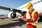 Inženýr letadel — Stock fotografie