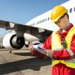 Aircraft engineer — Stock Photo