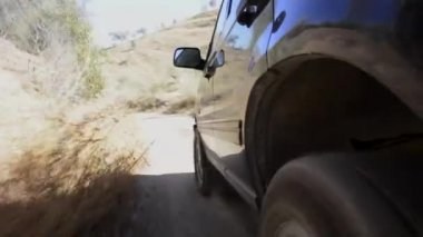 Dirt road drive — Stockvideo