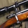 Reloading a bolt action rifle  — Stock Video