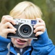 Royalty-Free Stock Photo: Young Photographer