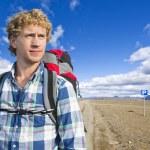 Hiker portrait — Stock Photo