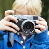 Tomando una foto — Foto de Stock