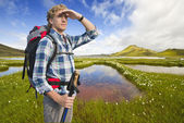 Hiker — Stock Photo