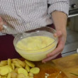 Whisking batter — Stock Video #18191741