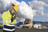 Geothermal engineering — Stock Photo