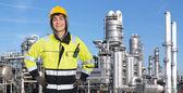 Confident petrochemical engineer — Foto de Stock