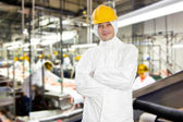 Slaughterhouse worker — Stock Photo