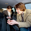 Tipping the Cabby — Stock Photo #2110846