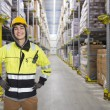 Coldstore worker - Foto Stock