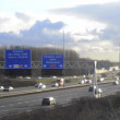 Motorway Traffic - Stock Photo