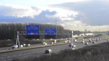Traffico autostrada — Video Stock