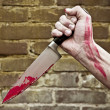 Stabbing knife - Stock Photo