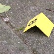 Stock Video: Pover Crime scene