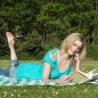 Reading book — Stock Photo #25445109