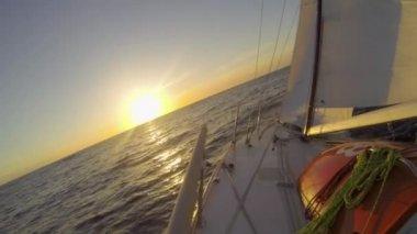 Atlantic Sunset — Stock Video