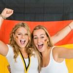 German sports fans — Stock Photo #30847049