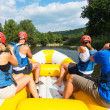 People rafting — Stock Photo