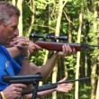 Stock Video: Air guns
