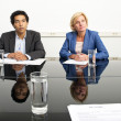 Two managers — Stock Photo #38780065
