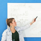 Whiteboard engineering — Stock Photo