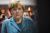 Portrait of Angela Merkel chancellor of Germany — Stock Photo