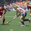 World Cup Hockey 2014 - England vs USA women — Stock Photo #47463635