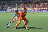 World Cup Hockey 2014 - Netherlands - Argentina — Stock Photo