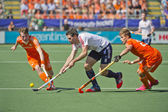 Semi-finals Netherlands vs England — Stockfoto