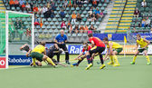 Penalty Corner World Cup Hockey — Stockfoto