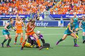 Netherlands - Australia 2-0 — Stock Photo