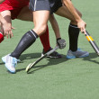 Field hockey close up — Stock Photo #49686583