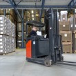 Reach Truck in warehouse — Stock Photo #49686697