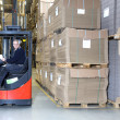 Reach Truck driver — Stock Photo #49686699