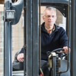 Forklift driver — Stock Photo #49686803
