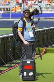 Spor fotoğrafçı — Stok fotoğraf