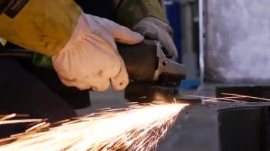 Industrial Grinding — Stock Video