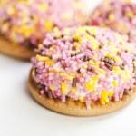 Tasty sweet cookie — Stock Photo #18768545