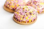 Smaczny słodki cookie — Zdjęcie stockowe