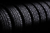 3d tire and alloy wheel — Stock Photo