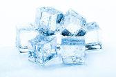 Fresh ice cubes — Stock Photo