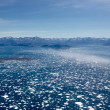 Ice fjord aerial — Stock Photo #21440675