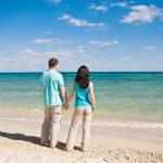 A couple on beach — Stock Photo #3082209