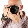 Male phootgrapher - Stock Photo