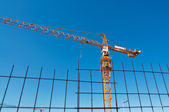 Construction crane — Stockfoto