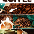 Coffe Collage - Stock Photo