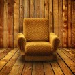 Old armchair - Stock Photo