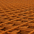 Stock Photo: Reinforcing mesh