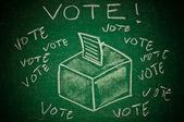 Omröstning koncept — Stockfoto