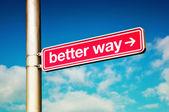 Better way — Stock Photo